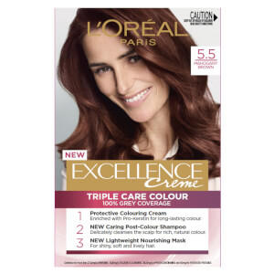 L'Oréal Paris Excellence Creme Permanent Hair Colour - Mahogany Brown 5.5
