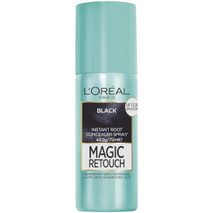 L'Oréal Paris Magic Retouch Temporary Root Concealer Spray - Black 1 75ml