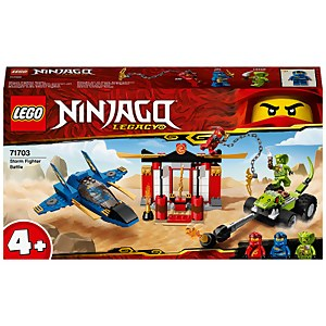 LEGO NINJAGO: 4+ Legacy Storm Fighter Battle Toy Jet (71703)