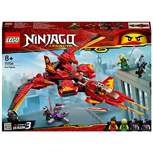 LEGO NINJAGO: Legacy Kai Fighter Toy Jet (71704)