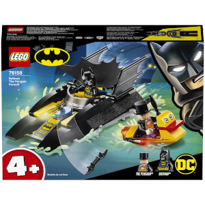 LEGO DC Batman 4+ Batboat The Penguin Pursuit Toy (76158)