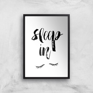 The Motivated Type Sleep In Giclee Art Print