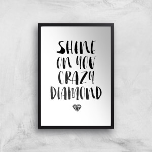 The Motivated Type Shine On You Crazy Diamond Giclee Art Print