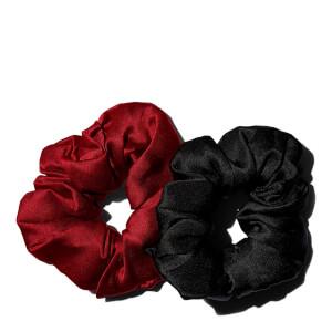 Bouclème Silk Scrunchie - Crimson