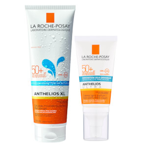 La Roche-Posay Face and Body Sunscreen Set for Dry and Sensitive Skin