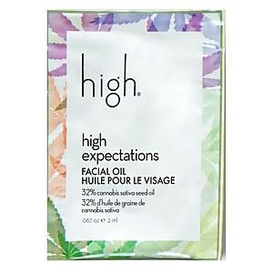 High Beauty high expectations CANNABIS FACIAL OIL