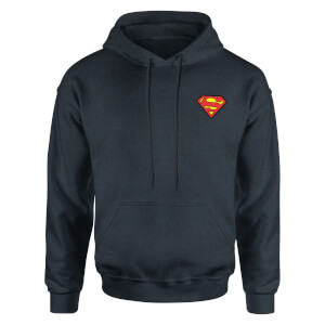 DC Superman Kids' Piped Hoodie - Navy