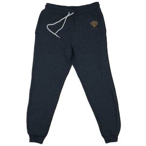 Harry Potter Gryffindor Embroidered Kids' Piped Joggers - Navy