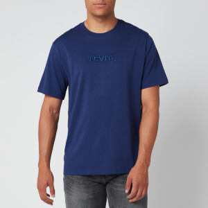Levi's Men's Relaxed Fit T-Shirt - Reflective Blueprint