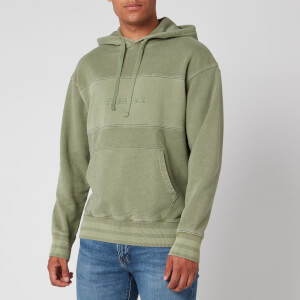 Levi's Men's Relaxed Fit Novelty Hoodie - Green