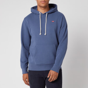 Levi's Men's New Original Hoodie - Blue Indigo
