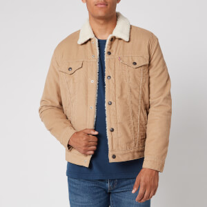Levi's Men's Type 3 Sherpa Trucker Jacket - True Chino