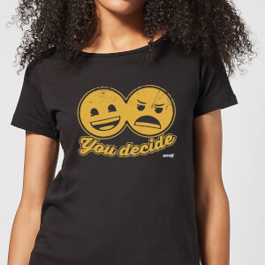 Emoji You Decide Women's T-Shirt - Black