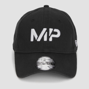 MP 9TWENTY Baseball Cap - Black/White