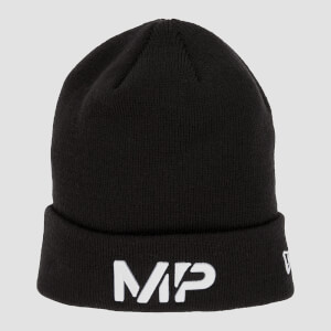 MP Cuff Knitted Beanie - Black/White