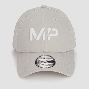 MP New Era 9FORTY Baseball Cap - Storm/White