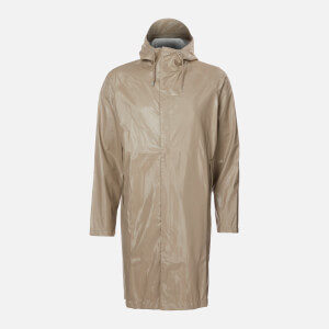 RAINS Coat - Shiny Beige