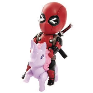 Beast Kingdom Marvel Comics Deadpool Pony Figure