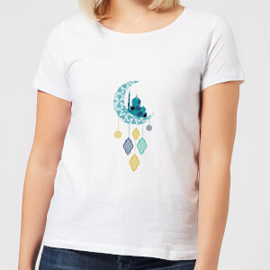 Eid Mubarak Moon Charm Women's T-Shirt - White