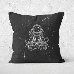 Zen Astronaut Square Cushion