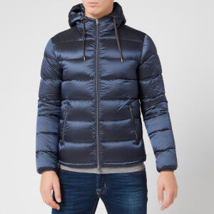 Herno Men's Resort Gloss Padded Jacket - Navy