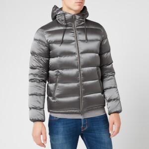 Herno Men's Resort Gloss Padded Jacket - Grey