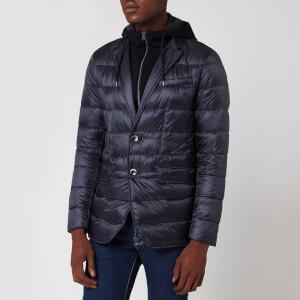 Herno Men's Padded Blazer Jacket - Navy