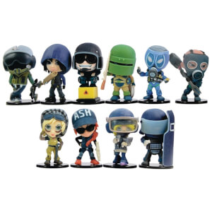 Just Play Ubisoft Rainbow Six Window Box Display Figures (Pack of 12)