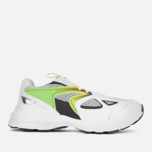 Axel Arigato Men's Marathon HD Chunky Running Style Trainers - White/Neon