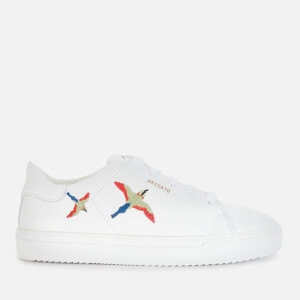 Axel Arigato Kids' Clean 90 Bird Leather Cupsole Trainers - White