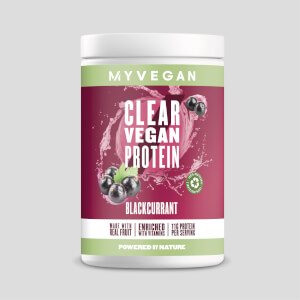 Clear Vegan Protein - Blackcurrant