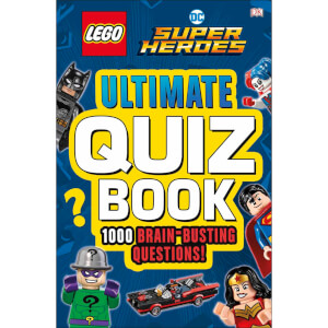 DK Books LEGO DC Comics Super Heroes Ultimate Quiz Book Paperback