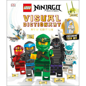 DK Books LEGO NINJAGO Visual Dictionary New Edition Hardback