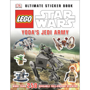 DK Books LEGO Star Wars Yoda's Jedi Army Ultimate Sticker Book Paperback