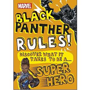 DK Books Marvel Black Panther Rules! Paperback