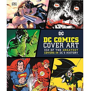 DK Books DC Comics Cover Art Hardback
