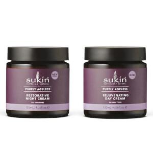 Sukin Purely Ageless Restorative Night Cream / Purely Ageless Rejuvenating Day Cream