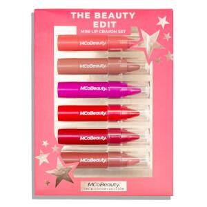 MCoBeauty The Beauty Edit 6 Mini Lip Crayons