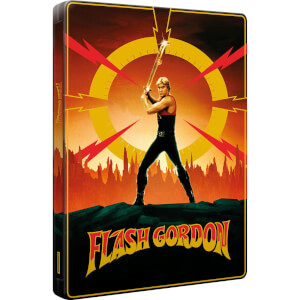 Flash Gordon (40th Anniversary Edition) - Zavvi Exclusive 4K Ultra HD & Blu-ray (3 discs) Steelbook