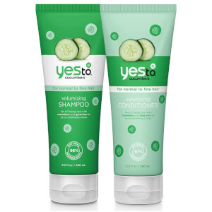 yes to Cucumbers Volumising Shampoo and Conditioner Bundle