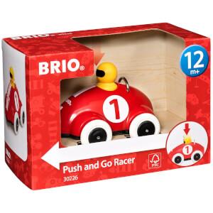 Brio Push & Go Racer