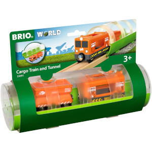 Brio Tunnel & Cargo Train