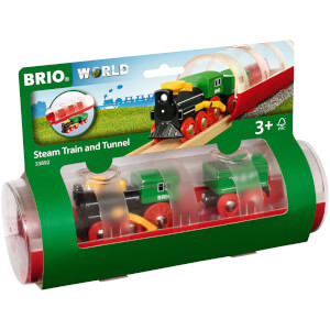 Brio Tunnel & Steam Train