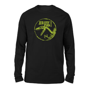Jurassic Park Skell Unisex Long Sleeved T-Shirt - Black