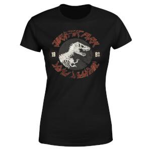 T-Shirt Jurassic Park Classic Twist - Nero - Donna