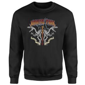 Jurassic Park Raptor Twinz Sweatshirt - Zwart