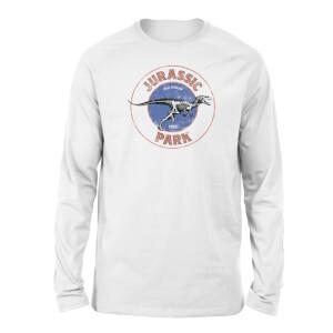 Jurassic Park Jurassic Target Unisex Long Sleeved T-Shirt - White