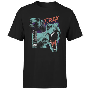 Jurassic Park T-REXES Men's T-Shirt - Black