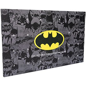 Calendrier de l'Avent 2020 Pièce de Collection Batman DC Comics - Exclusivité Zavvi
