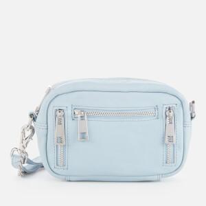 Núnoo Women's Brenda Smooth Cross Body Bag - Light Blue